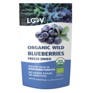 Blueberry Freeze dried organic