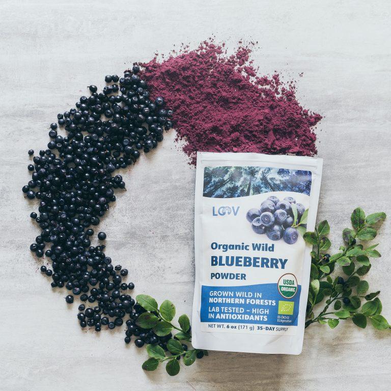 wild blueberry powder organic