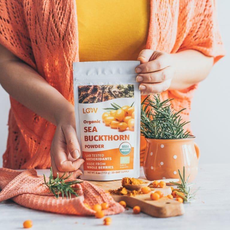 Sea Buckthorn Powder LOOV Organic