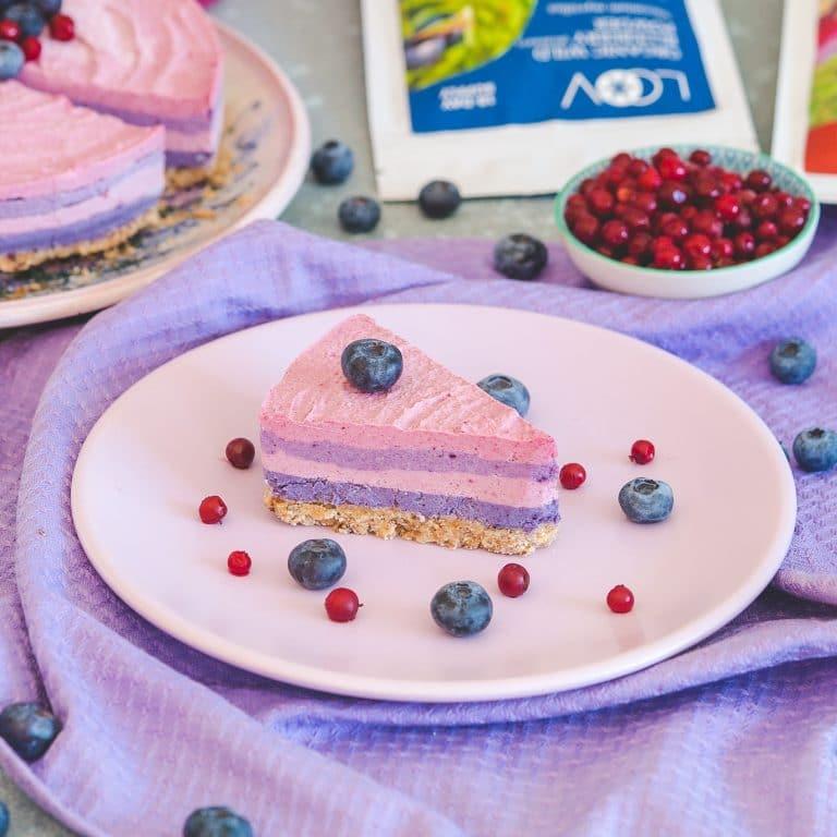 LOOV Raw vegan berry cake recipe
