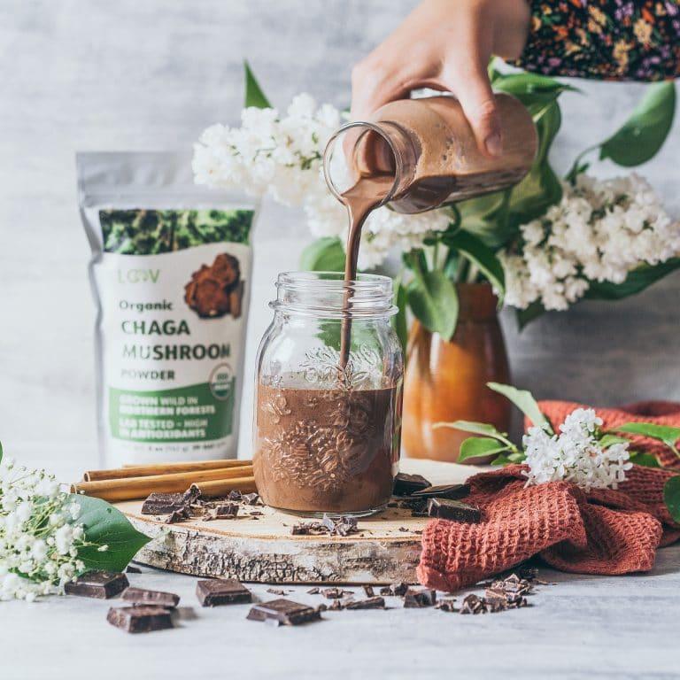 LOOV Cacao Smoothie vegan recipe